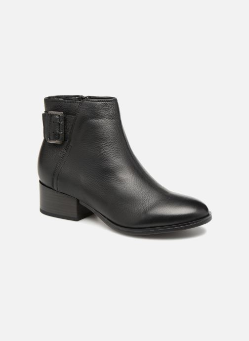 Ankle boots Clarks Elvina Dream Black detailed view/ Pair view
