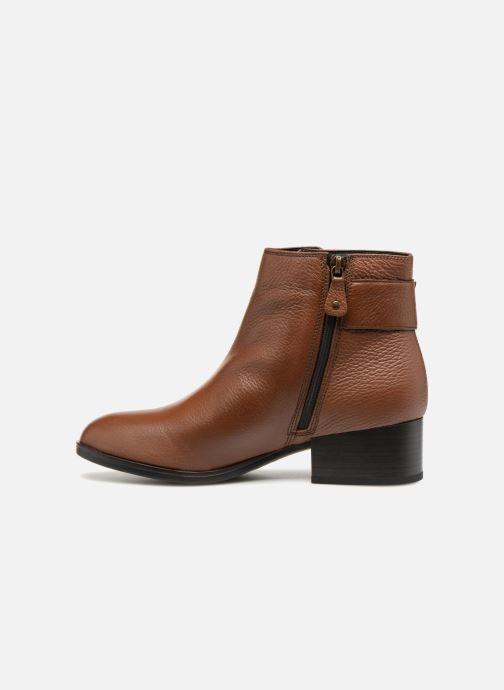 Bottines et boots Clarks Elvina Dream Marron vue face