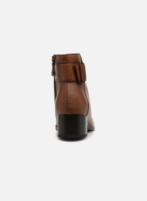 Bottines et boots Clarks Elvina Dream Marron vue droite