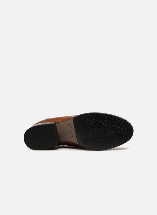 Bottines et boots Clarks Elvina Dream Marron vue haut
