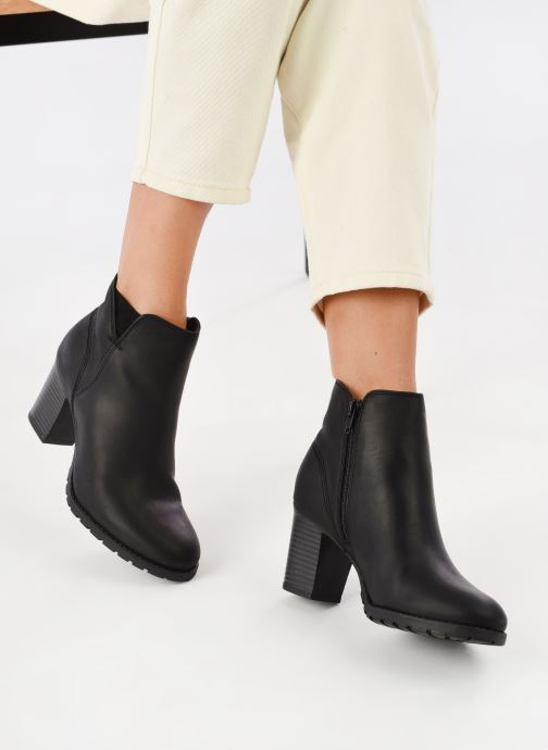 6f43e729fc31e Ankle boots Clarks Verona Trish Black view from underneath / model view