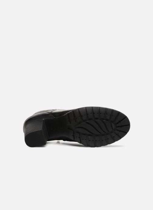Bottines et boots Clarks Verona Trish Noir vue haut