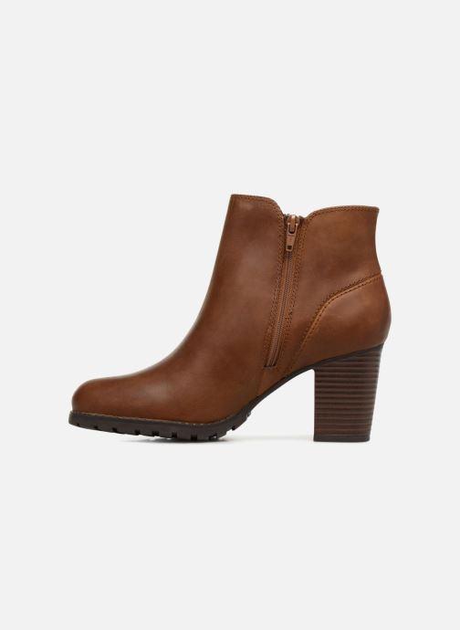 Boots en enkellaarsjes Clarks Verona Trish Bruin voorkant
