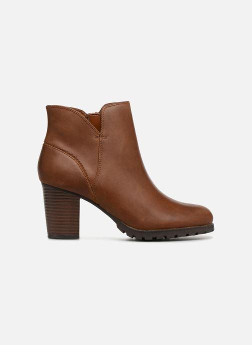 Boots en enkellaarsjes Clarks Verona Trish Bruin achterkant