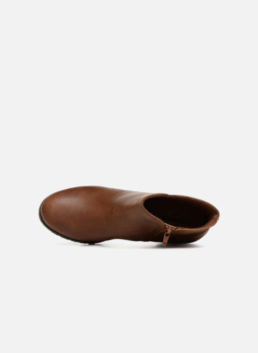 Boots en enkellaarsjes Clarks Verona Trish Bruin links