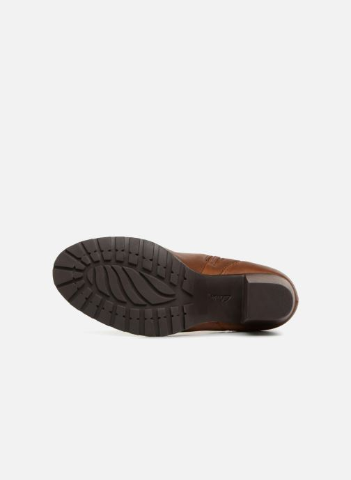Bottines et boots Clarks Verona Trish Marron vue haut