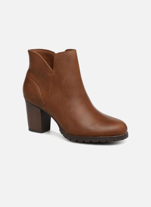 Ankle boots Clarks Verona Trish Brown detailed view/ Pair view
