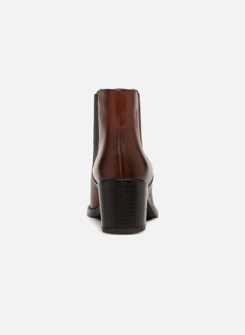 Bottines et boots Clarks Mascarpone Bay Marron vue droite