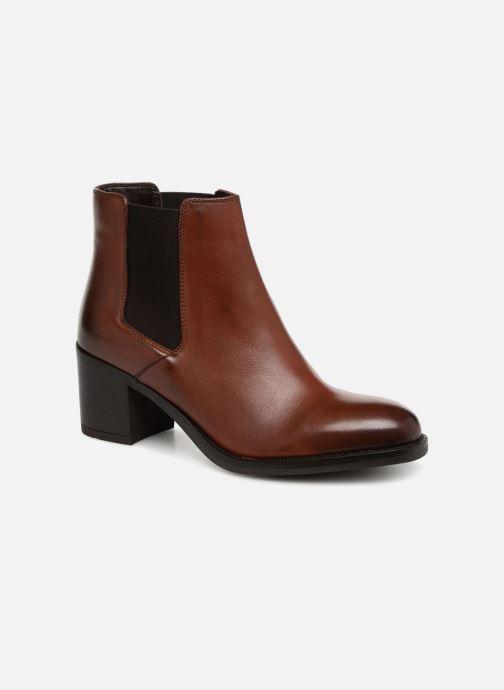 Bottines et boots Clarks Mascarpone Bay Marron vue détail/paire