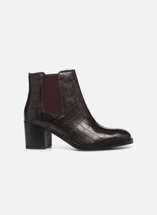 Bottines et boots Clarks Mascarpone Bay Bordeaux vue derrière