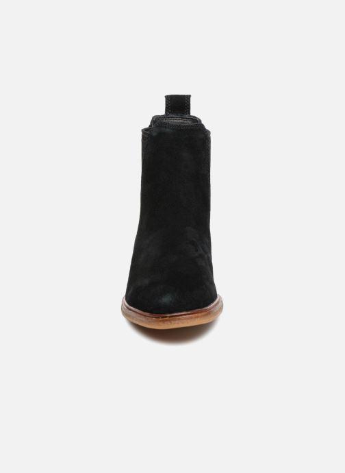 Bottines et boots Clarks Clarkdale Arlo Noir vue portées chaussures