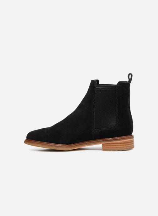 Boots en enkellaarsjes Clarks Clarkdale Arlo Zwart voorkant