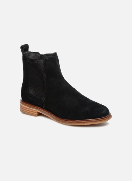Boots en enkellaarsjes Clarks Clarkdale Arlo Zwart detail