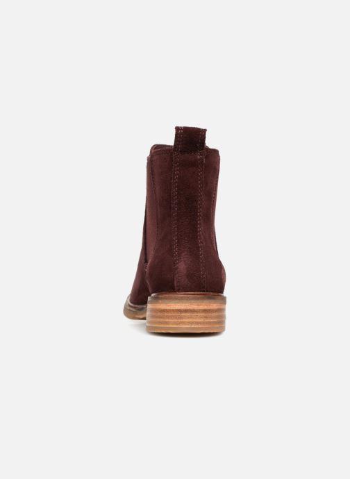 Bottines et boots Clarks Clarkdale Arlo Bordeaux vue droite