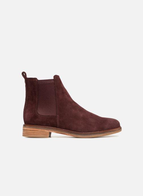 Bottines et boots Clarks Clarkdale Arlo Bordeaux vue derrière