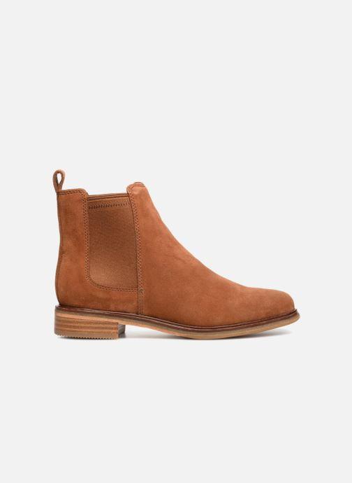 Bottines et boots Clarks Clarkdale Arlo Marron vue derrière