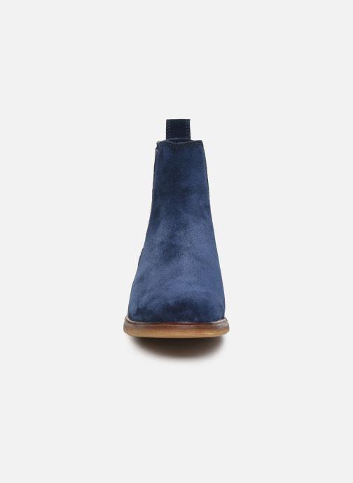Bottines et boots Clarks Clarkdale Arlo Bleu vue portées chaussures