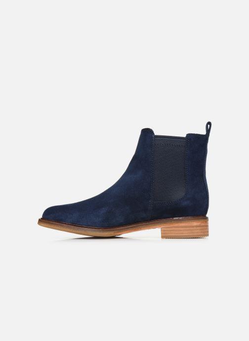 Bottines et boots Clarks Clarkdale Arlo Bleu vue face