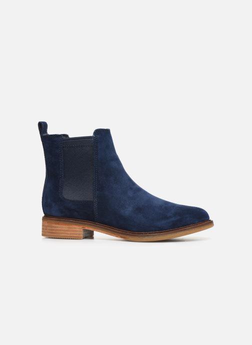 Bottines et boots Clarks Clarkdale Arlo Bleu vue derrière