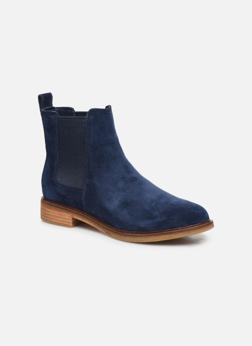 Ankle boots Clarks Clarkdale Arlo Blue detailed view/ Pair view