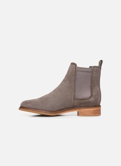 Bottines et boots Clarks Clarkdale Arlo Gris vue face
