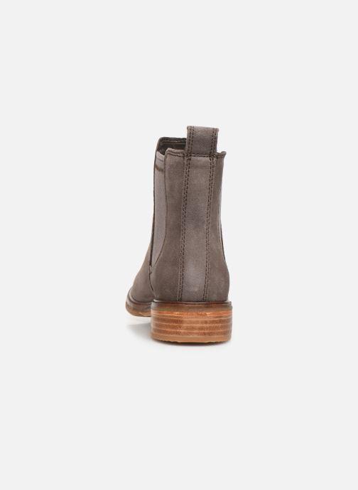 Bottines et boots Clarks Clarkdale Arlo Gris vue droite