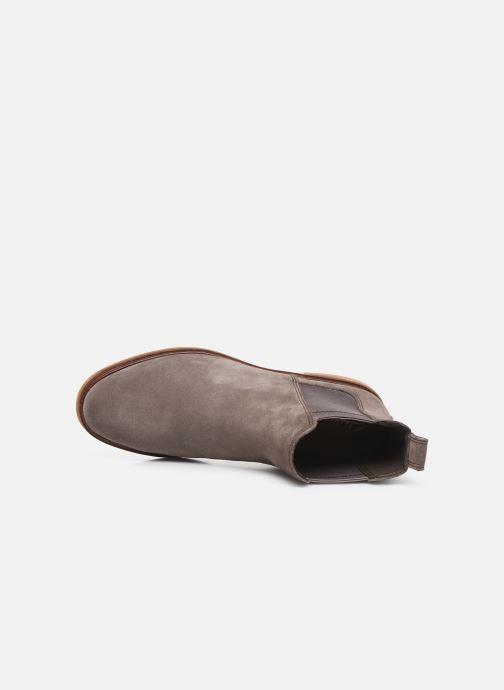 Boots en enkellaarsjes Clarks Clarkdale Arlo Grijs links