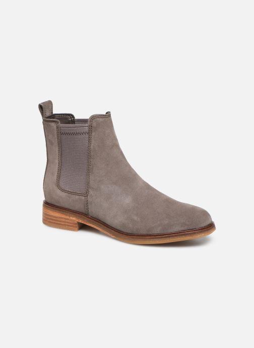 Bottines et boots Clarks Clarkdale Arlo Gris vue détail/paire