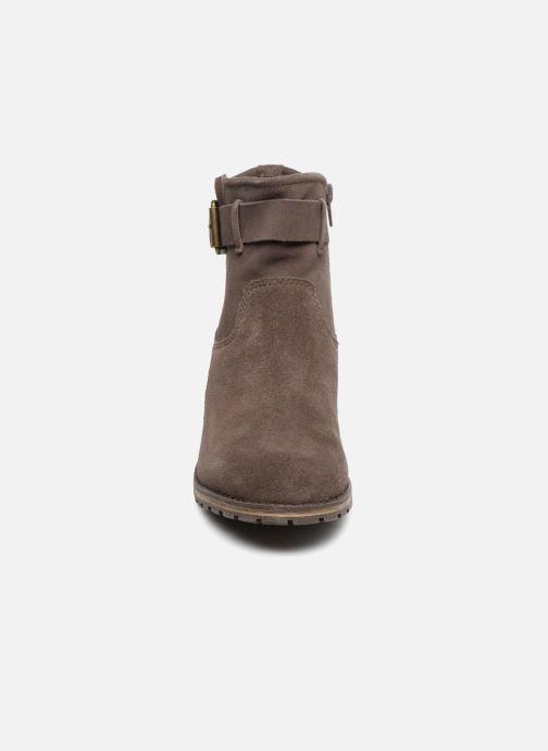 Bottines et boots Clarks Marana Amber Marron vue portées chaussures