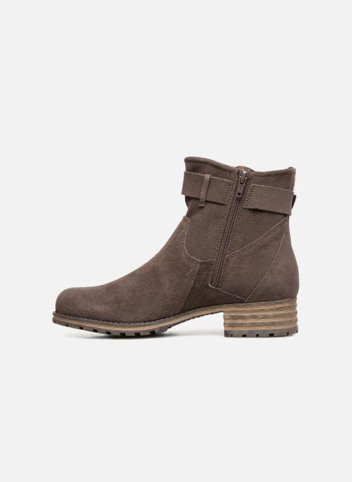 Bottines et boots Clarks Marana Amber Marron vue face