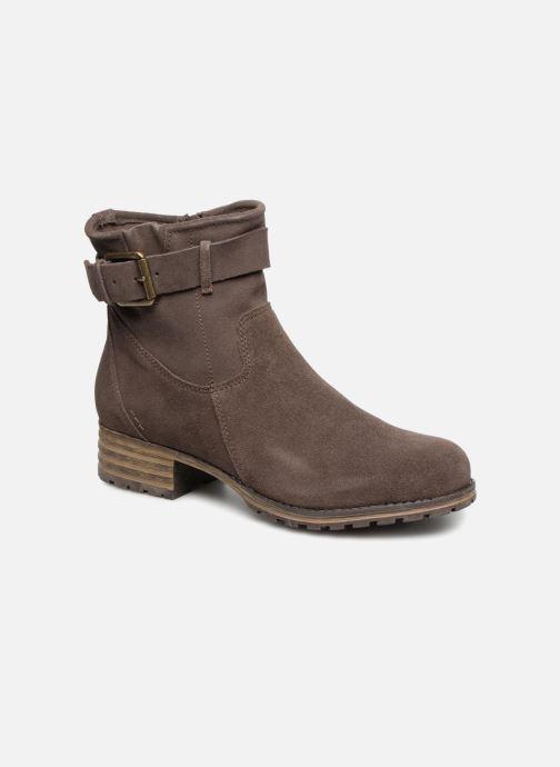 Bottines et boots Clarks Marana Amber Marron vue détail/paire