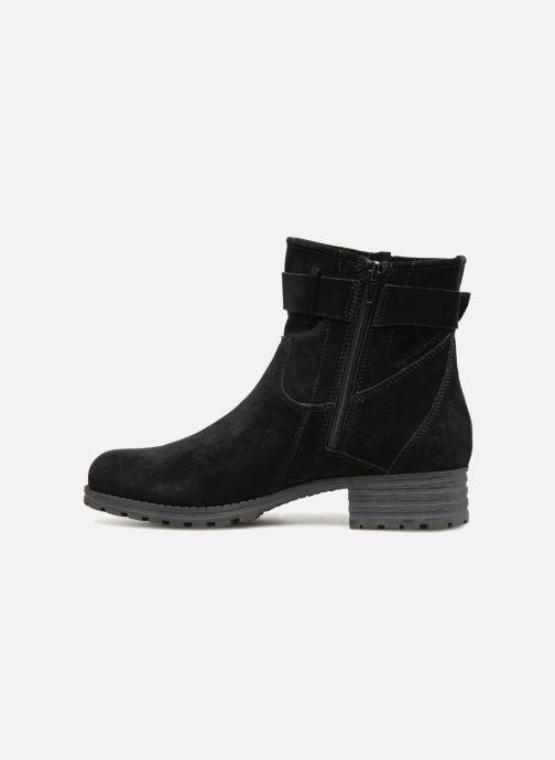Bottines et boots Clarks Marana Amber Noir vue face