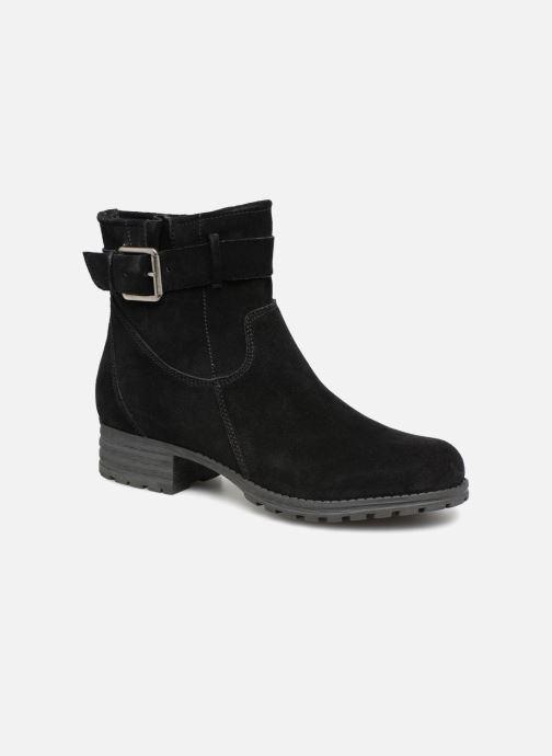 Bottines et boots Clarks Marana Amber Noir vue détail/paire