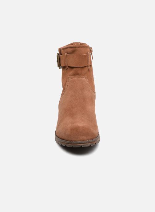Boots Clarks Marana Amber Brun bild av skorna på