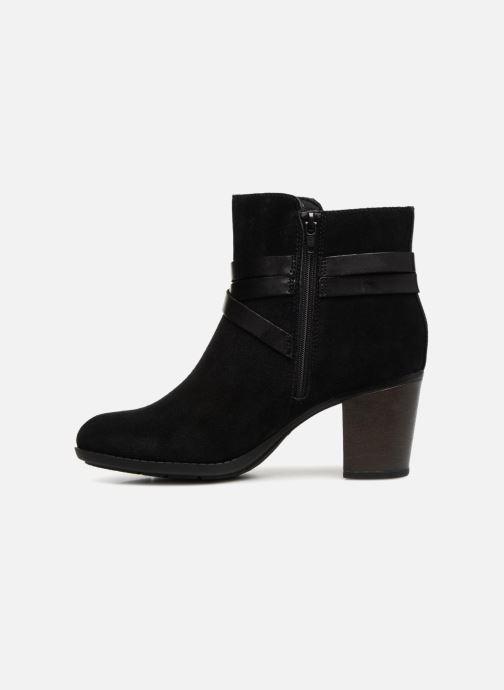 Boots en enkellaarsjes Clarks Enfield Coco Zwart voorkant
