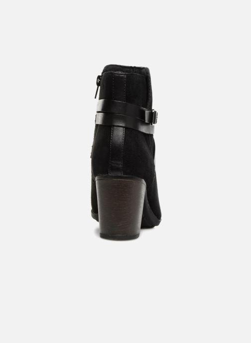 Bottines et boots Clarks Enfield Coco Noir vue droite