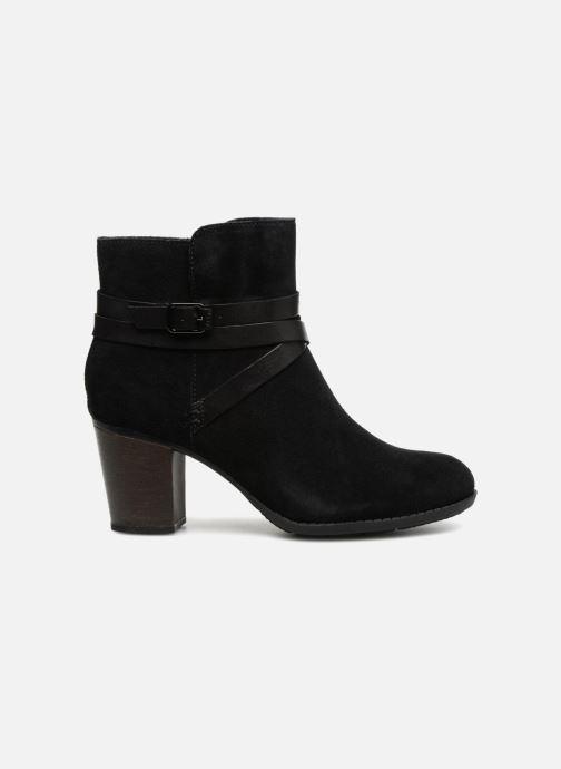 Bottines et boots Clarks Enfield Coco Noir vue derrière