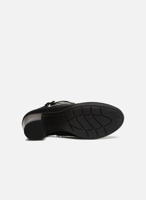 Bottines et boots Clarks Enfield Coco Noir vue haut