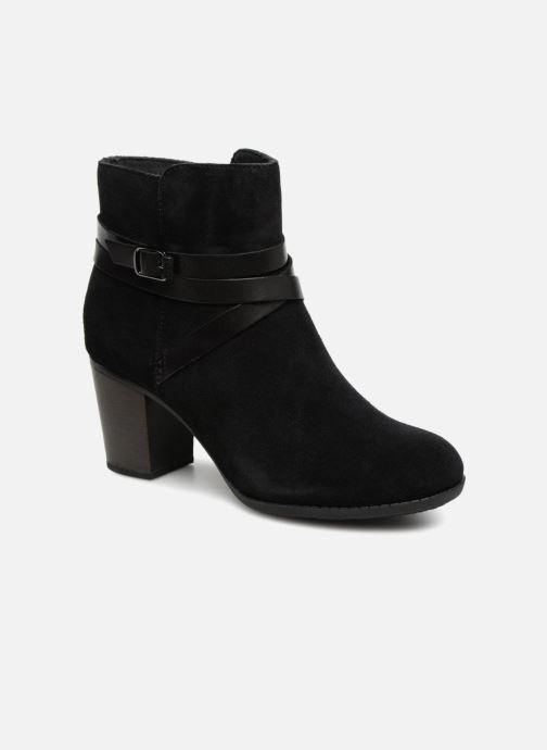Boots en enkellaarsjes Clarks Enfield Coco Zwart detail