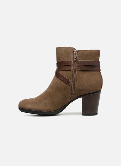 Bottines et boots Clarks Enfield Coco Marron vue face