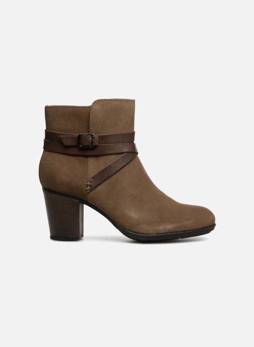 Bottines et boots Clarks Enfield Coco Marron vue derrière