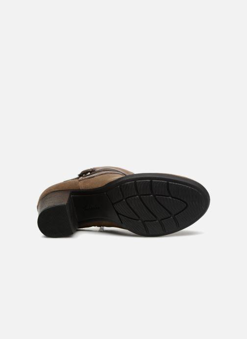 Bottines et boots Clarks Enfield Coco Marron vue haut