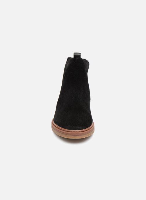 Bottines et boots Clarks Dove Madeline Noir vue portées chaussures