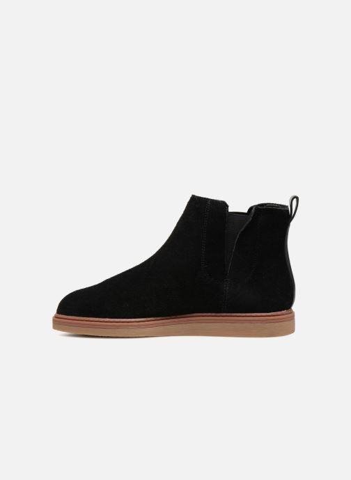 Bottines et boots Clarks Dove Madeline Noir vue face