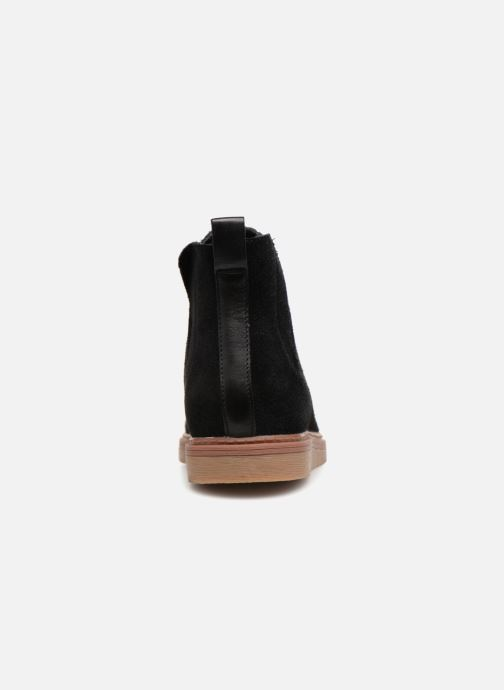 Bottines et boots Clarks Dove Madeline Noir vue droite