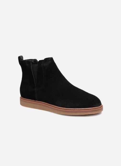 Bottines et boots Clarks Dove Madeline Noir vue détail/paire