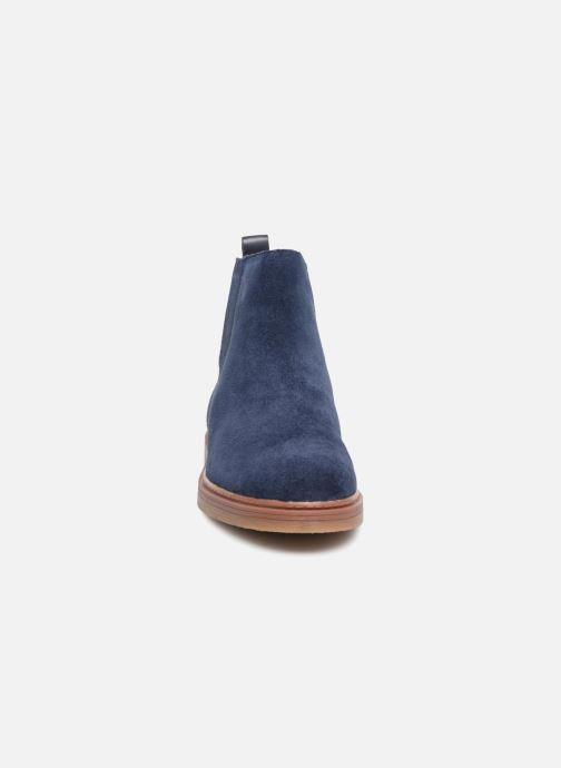 Bottines et boots Clarks Dove Madeline Bleu vue portées chaussures