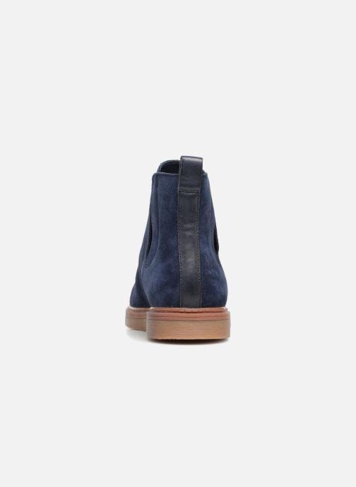 Bottines et boots Clarks Dove Madeline Bleu vue droite