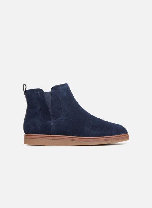 Bottines et boots Clarks Dove Madeline Bleu vue derrière