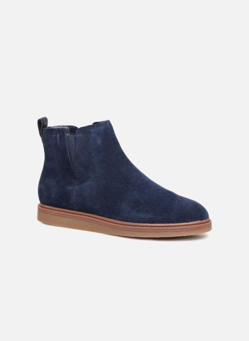 Bottines et boots Clarks Dove Madeline Bleu vue détail/paire